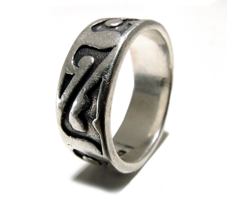 celtic wedding rings and wedding rings in silver